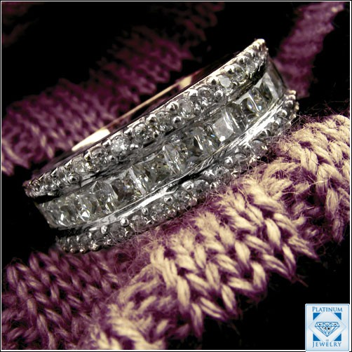 Cubic Zirconia Wedding Bands