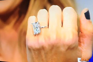 Kim Kardashians Engagement Ring Kim Kardashians Wedding Ring Kim