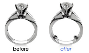 cz platinum and gold jewelry repair services